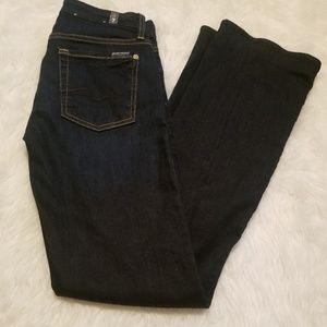{7FAMK} Kimmie Boot Cut Jeans